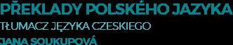 Jana Soukupová | Překlady polského jazyka